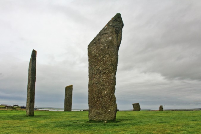 Standing stones of Stenness Orkney