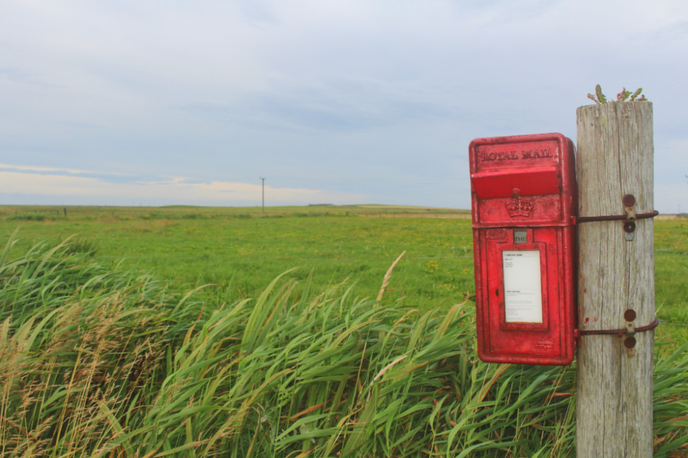 mailbox Sanday