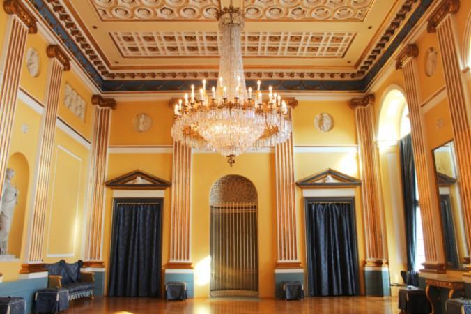 Amalienborg salon Copenhague