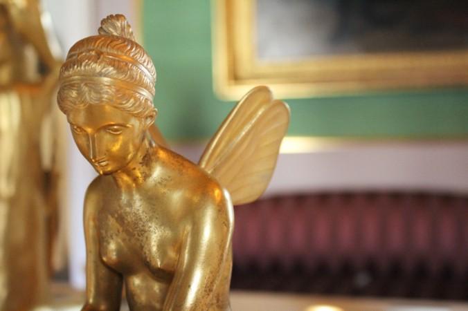 Amalienborg statue dorée Copenhague