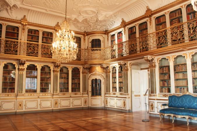 bibliothèque de la reine Christianborg Copenhague