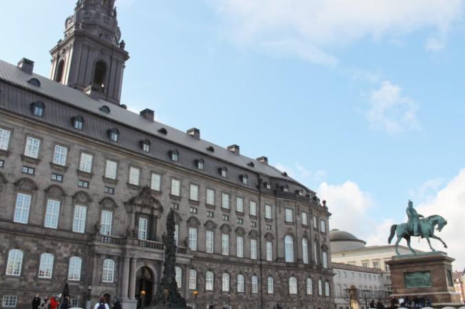 Christianborg Copenhague