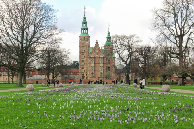 Rosenborg slot Copenhague