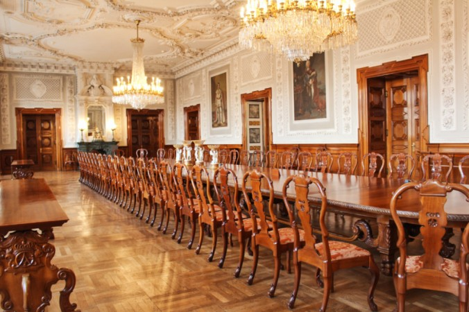 salle à manger Christianborg Copenhague
