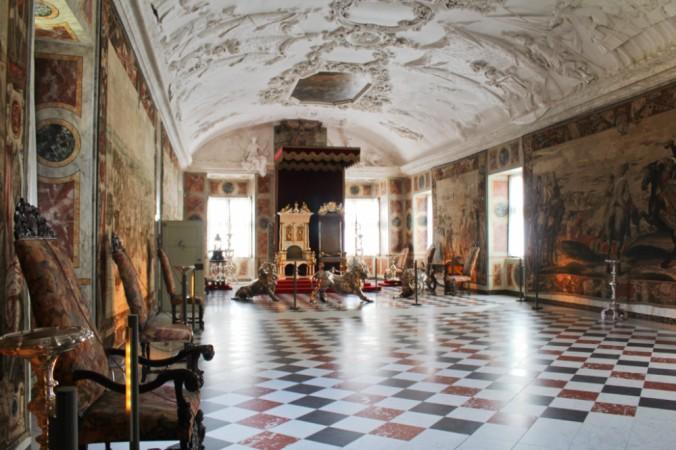 salle du trône Rosenborg Copenhague