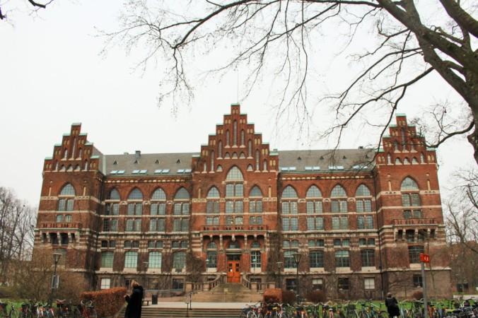 bibliothèque Lund Suède