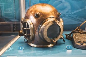 casque scaphandre Aberdeen maritime museum