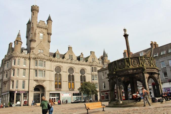 castlegate Aberdeen