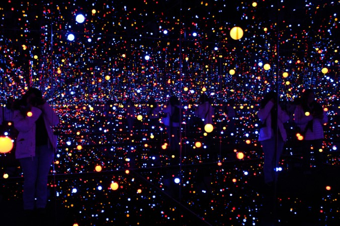 Gleaming lights of the souls by Kusama Louisiana Danemark