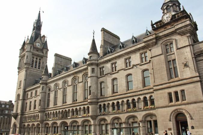 hôtel de ville Aberdeen