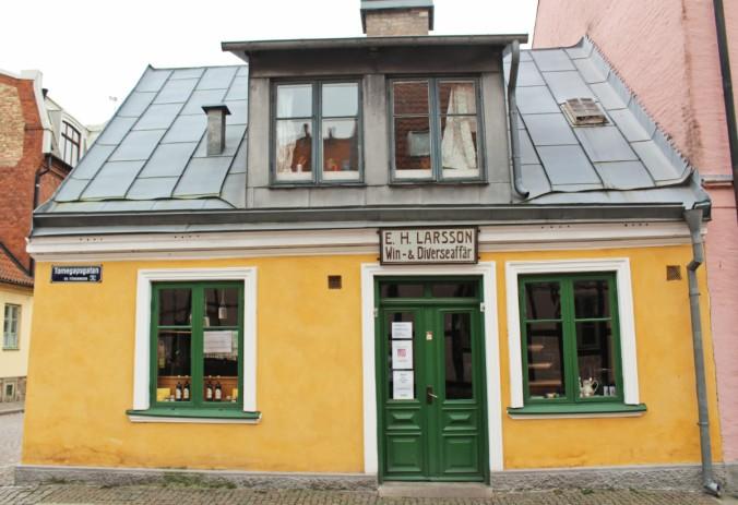 Hökeriet maison Lund Suède