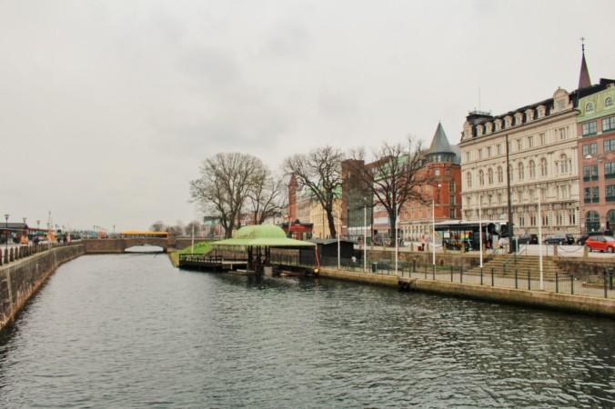 Malmö canal Suède