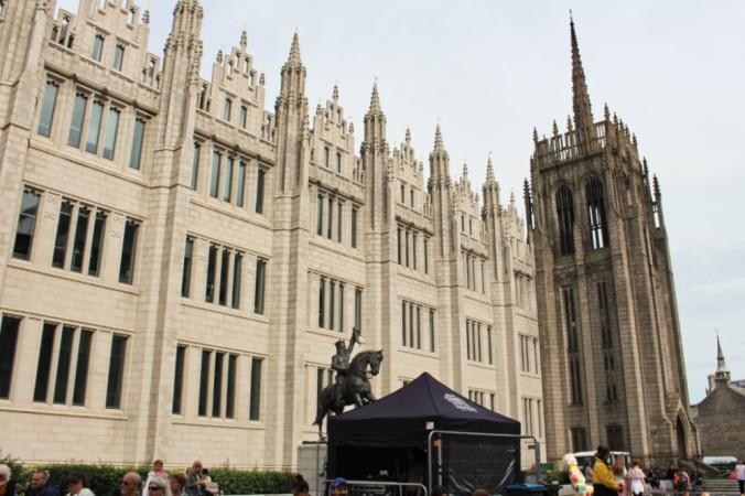 Marischal college extérieur Aberdeen