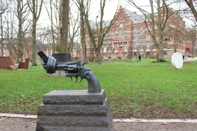 Non-violence Lund Suède