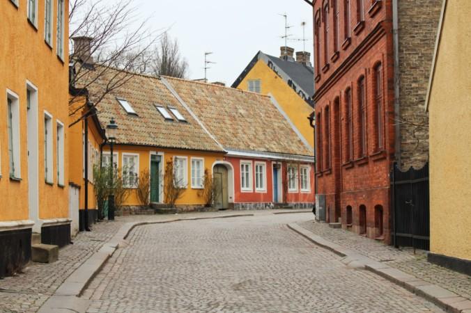 petite rue 2 Lund Suède