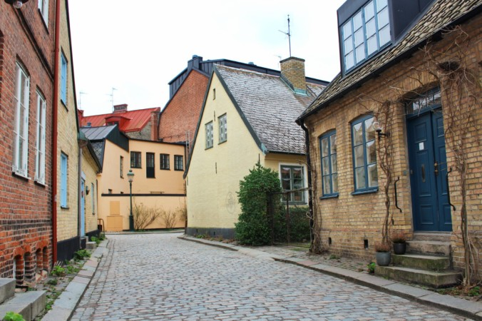 petite rue 3 Lund Suède