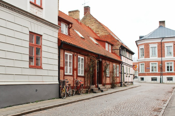 petite rue Lund Suède