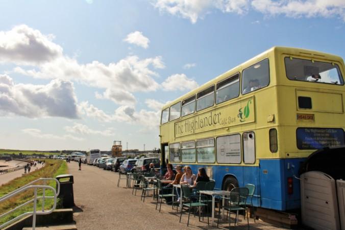 plage bus Aberdeen