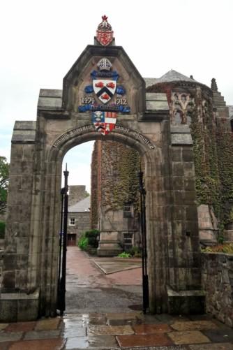 porte Aberdeen university