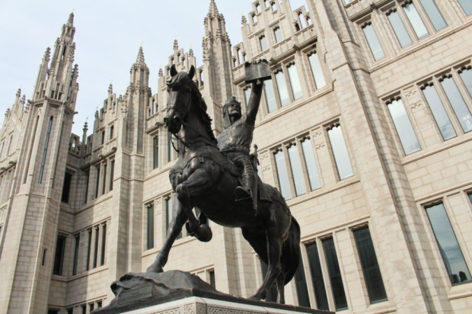 Robert the Bruce Aberdeen