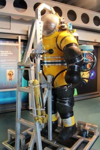 scaphandre Aberdeen maritime museum