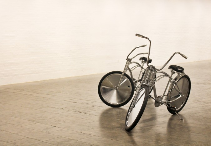 Silver bikes by AV Jenssens Louisiana Danemark