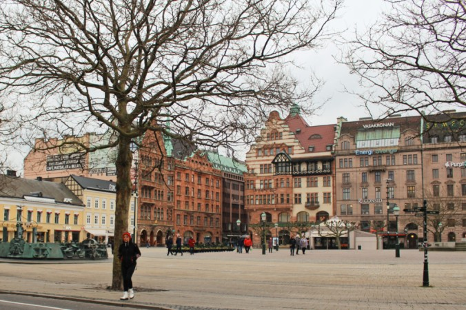 Stortorget Malmö Suède