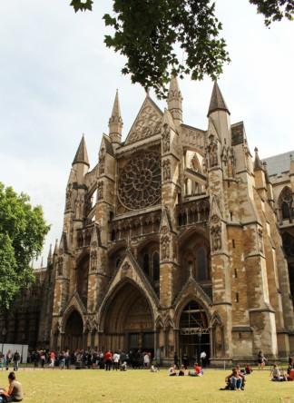 entrée Westminster abbey