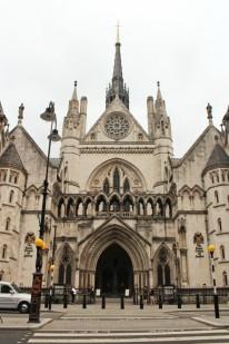 royal court of justice entrée Londres