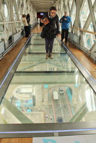 visite Tower bridge passerelle Londres