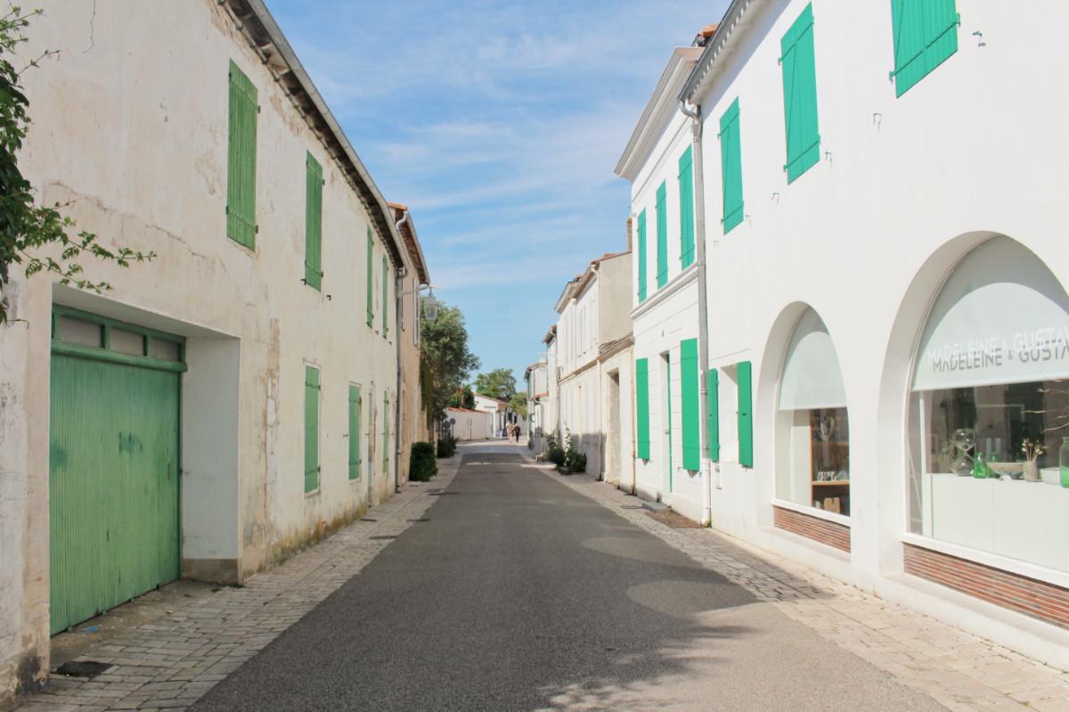 rue vert ars en ré